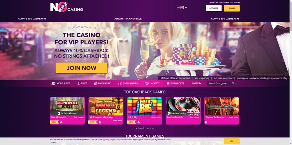 No Bonus Online Casino Review 2021