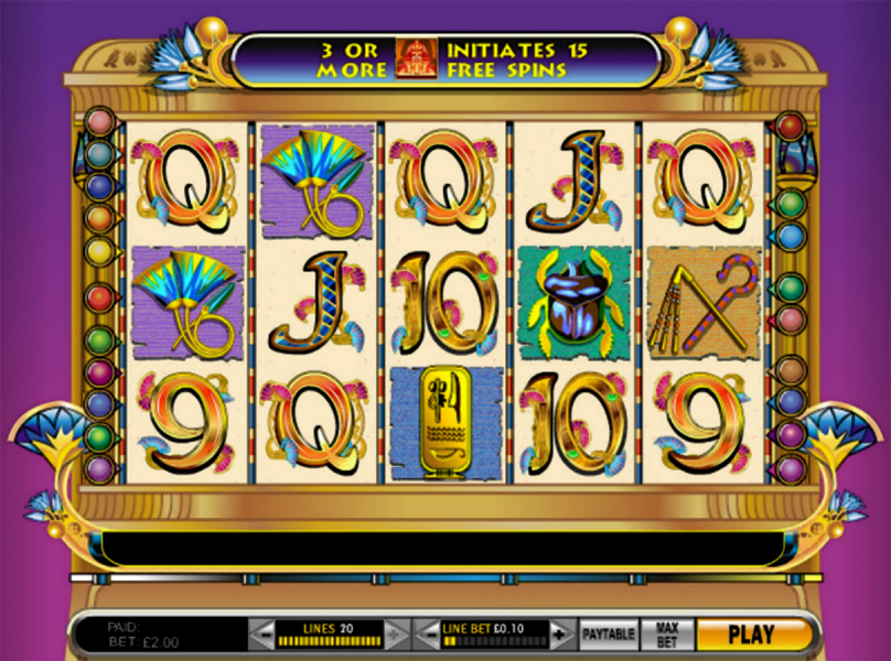 Play CleopatraS Coins Slot Machine Free With No Download